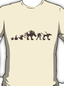 The Evolution of Monsters 2 (Light Version) T-Shirt