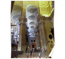 Malaga Church - Spain Poster