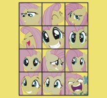 Emotions of Fluttershy by RoughBacon