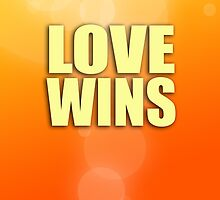 Love Wins - Orange by jdblundell