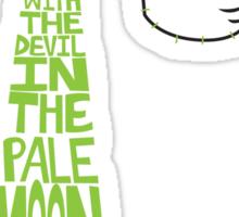 Joker T-shirt Sticker