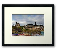 On top of Calton Hill Framed Print