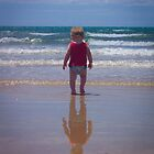 Thomas at the Beach by Melissa Gray