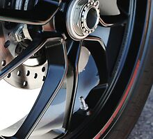 DUCATI 1100 EVO - REAR WHEEL  by Daniel  Oyvetsky