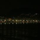 Rio at night by Maggie Hegarty