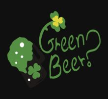 Shamrock Green Beer?  st.patty's day by cheeckymonkey