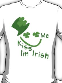 Kiss Me I'm Irish Boy st.Patrick's day T-Shirt