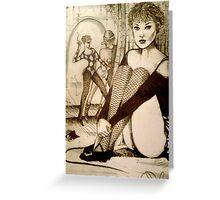 Cabaret Voltaire  ( Original 1993 ) Greeting Card