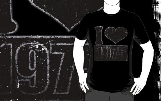 I heart 1975 Vintage T-Shirt by Nhan Ngo
