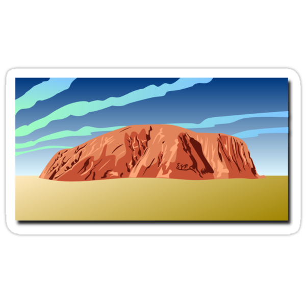 Uluru,  Ayers Rock by nadil