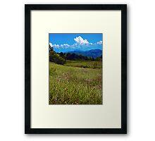 Appalachian View Framed Print