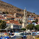 Halki Fishing Boats by Tom Gomez