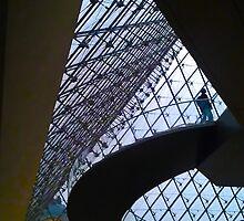 Louvre entrance by Christophe Claudel