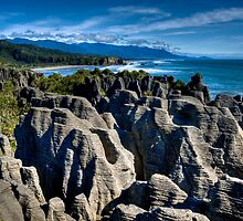 Pancake Rocks by J. Day