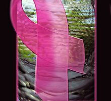 Breast Cancer Awareness Ribbon by Bine