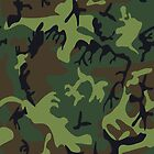 U.S. Woodland Camo Pattern by A1RB