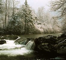 WINTER,GREENBRIER by Chuck Wickham