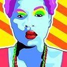 Vee's Pop Art: Li'l Sista by Vestque