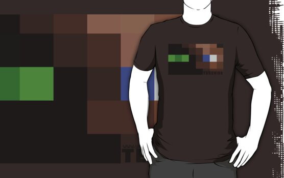 Ender Steve (Sketch T-Shirt) by TeserideGaming