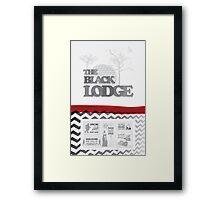The Black Lodge Framed Print