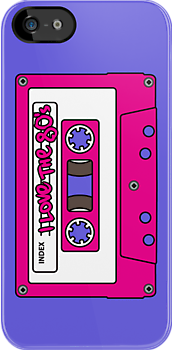 I love the 80&#x27;s - pink tape by eZonkey