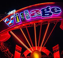 Disney Village Lights by hebrideslight