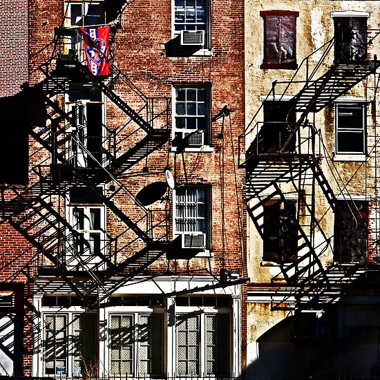 Fire Escapes by cclaude