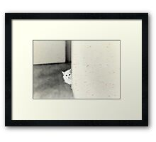 Just call me and I'll be there Framed Print