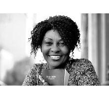 Brenda with Bible RO Photographic Print