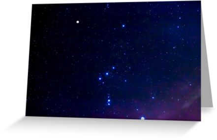 Constellation Orion by Jim Stiles