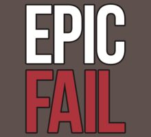 Epic Fail (white/red) by DropBass