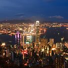 The City Under My Feet - Hong Kong by Alfred Tang