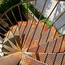 Rusty Spiral Down by Don Rankin