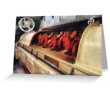 Steampunk - After Engine Room Greeting Card