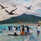 SAYULITA MORNING CATCH by Anita Wann