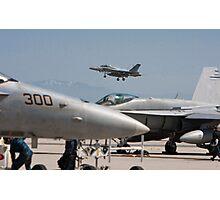 F 18 Super Hornet Preparing to Land Photographic Print