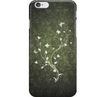Floral vintage [green] iPhone Case/Skin