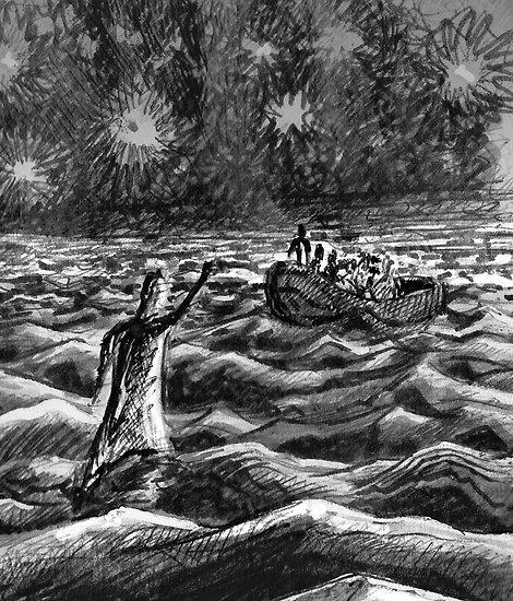 Walk On Water  by Matthew Scotland