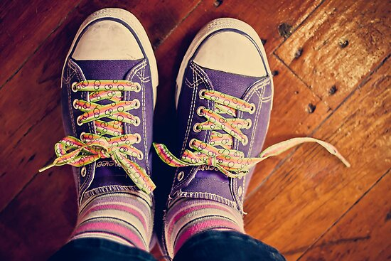 shoelaces to make you smile by Rosemary Scott