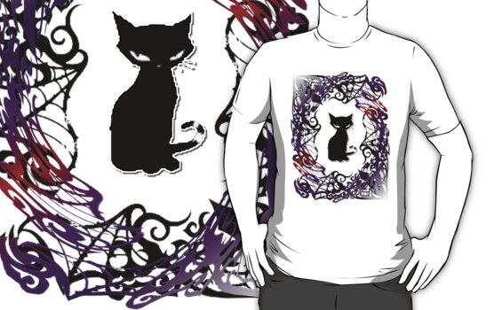 Sly Gothic Cat by VampicaX