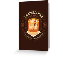 Draper's Bar Greeting Card
