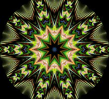 Geometric Kaleidoscope 11 by fantasytripp