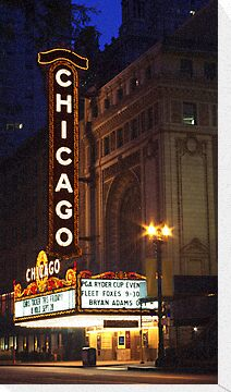 Chicago Theatre Evening, Chicago, IL by kenelamb