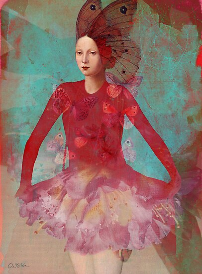 Dreaming in red by Catrin Welz-Stein