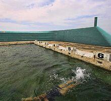 Newcastle Baths by Tam  Locke