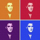 POP ART ELVIS by Terry Collett