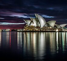 Reflections - Sydney Opera House by Stephane Milbank
