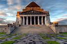 Shrine of Remembrance  Melbourne by William Bullimore