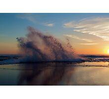 Beach Sunset - Part 2 Photographic Print