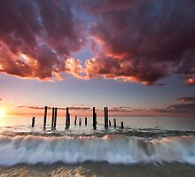 Pt Willunga Sunset by KathyT